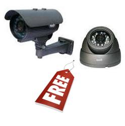 Free Dome & Bullet Cameras