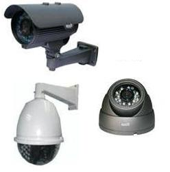 Bullet and Dome CCTV cameras