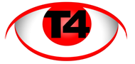 T4 Security & CCTV Surveillance logo